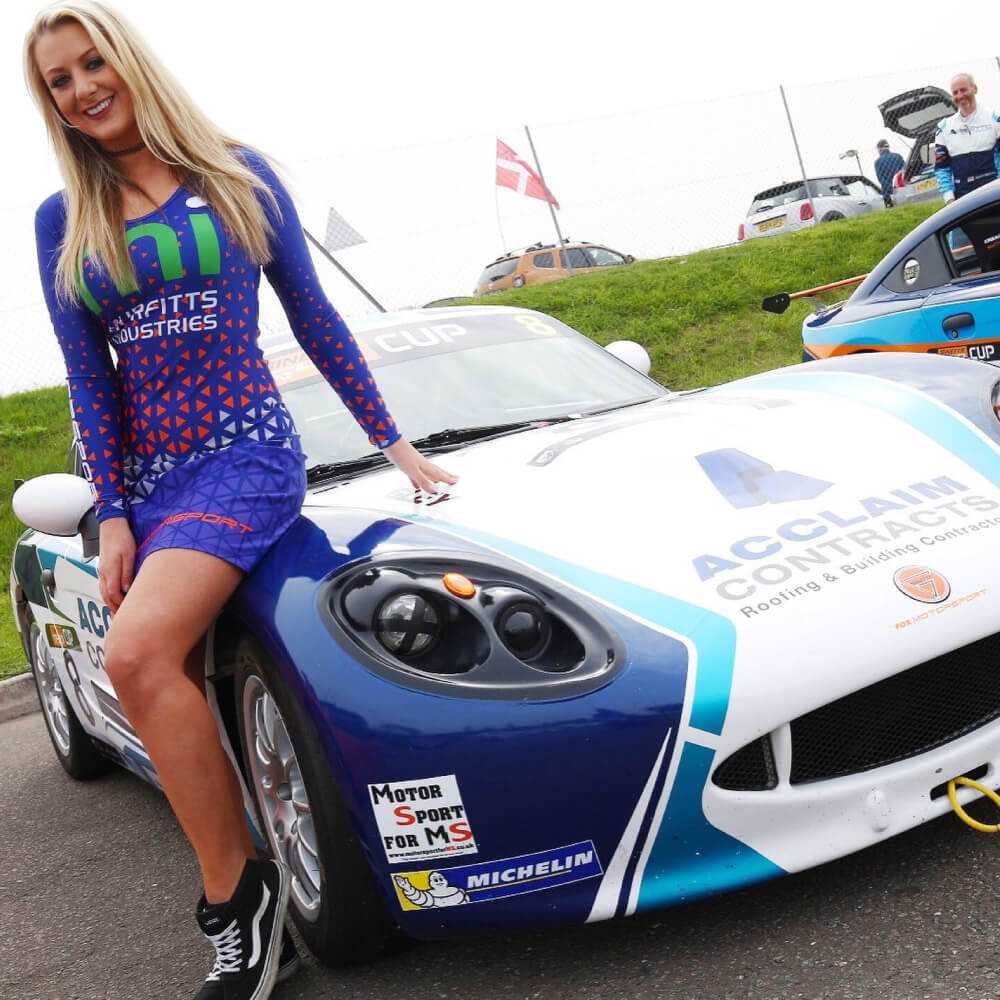 race car sponsor
